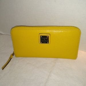 BRIGHT AND HAPPY YELLOW WALLET